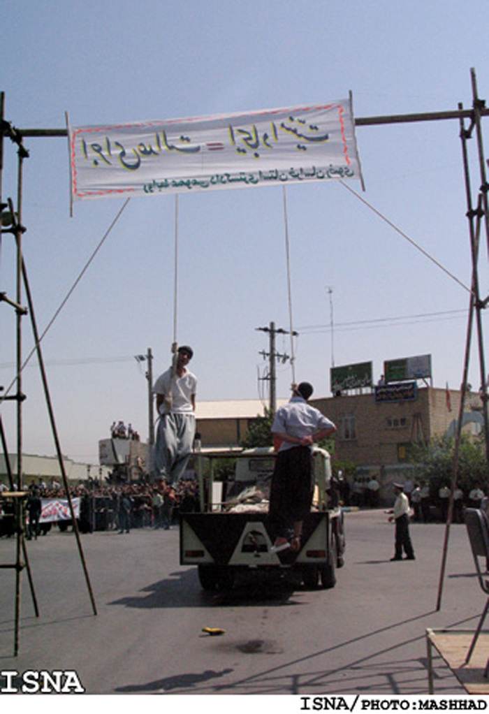 iran hanging outrage 2 Naked teen intercourse